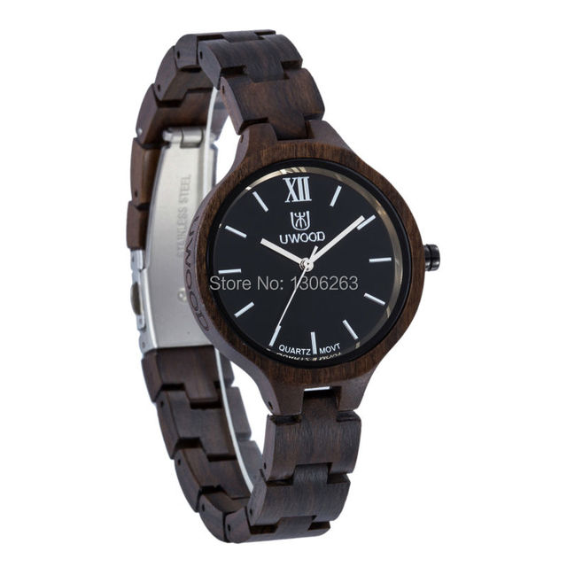 New Top Brand UWOOD Watch Wood Watches Women Unique Clock Women Wooden Watch Relogio Feminino Masculino  4