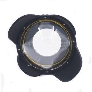 Image 4 - Meikon M67 67mm buceo ojo de pez lente gran angular Puerto Domo cámara de fotografía subacuática lente gran angular Puerto Domo