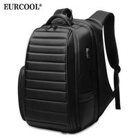 EURCOOL Large Capacity Travel Backpack Men for Teenager Male Mochila Water Repellent Laptop Backpacks Multifunction n0008