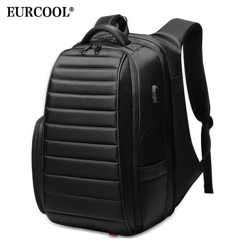 EURCOOL grande capacité voyage sac à dos hommes pour adolescent mâle Mochila hydrofuge sacs à dos d'ordinateur portable multifonction n0008