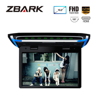 10.2 Monitor 1080P Video HD Resolution Digital TFT Screen Wide Screen Ultra thin Car Roof Mounted HDMI