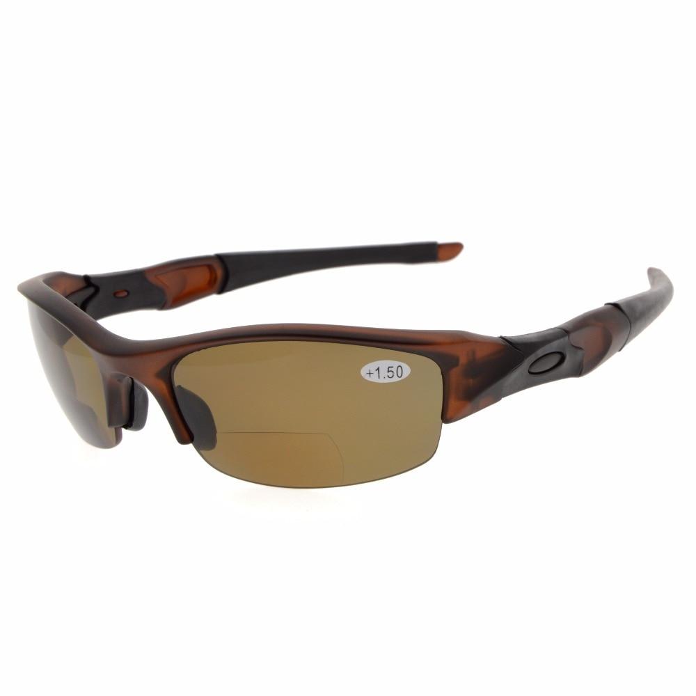 22937beb397a2 TH6166 Bifocal Eyekepper TR90 Unbreakable Half Rim font b Sports b font Sunglasses  Bifocal Sunglasses Reading