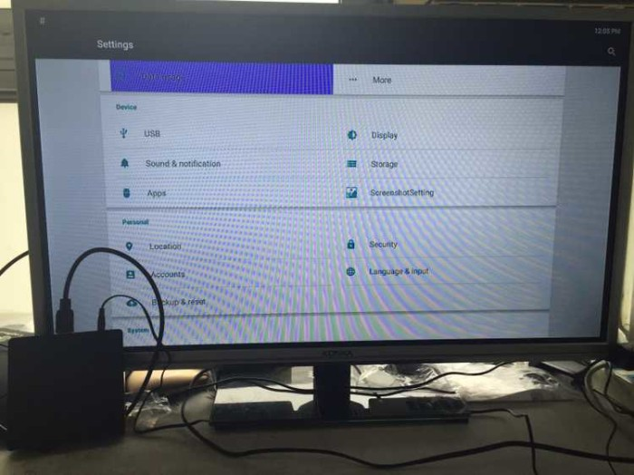 US $35 98 |MXG TV Box Amlogic S805 Quad Core Mali 450 GPU Smart TV Media  Player 1G/8G HDMI H 265 1080P XBMC-in Set-top Boxes from Consumer  Electronics