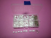 60 sets Kit in box 2p 3p 4p 5 pin 2.0mm Pitch Terminal / Housing / Straight Pin Header Connector Wire Connectors Adaptor PH Kits