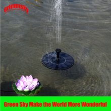 Max. 180L/H Floating Pool Pond Outdoor Solar Panel Home Garden Decoration Water Fountain