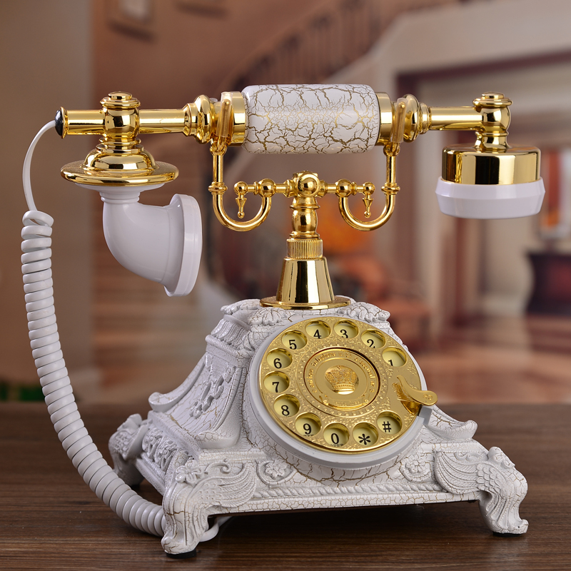 Antique Rotary Dial Telephone Set Antique Dial Telephone