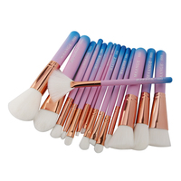 Best Sale MAANGE New Arrivals 15 Pcs Set Complete Makeup Brushes Set Make Up Tools Kit