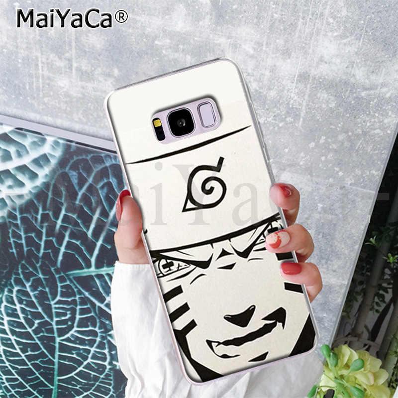 Maiyaca moda japão anime esboço naruto bonito caso de telefone para samsung s9 s9 mais s5 s6 s6edge s6plus s7 s7edge s8 s8plus