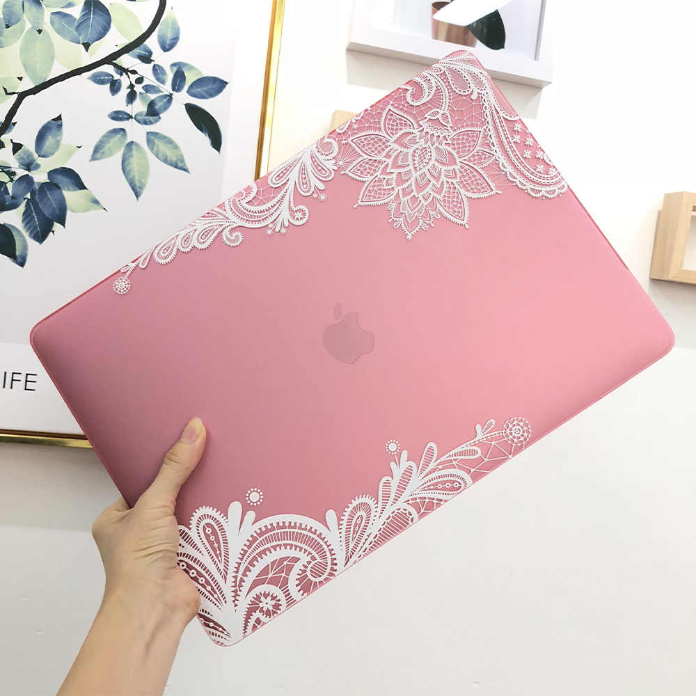 Batianda Karet Hard Cover Case untuk Apple MacBook Air 13 Inch Baru Pro 12 13 15 Retina Touch Bar a2179 A2141 Kasus Notebook