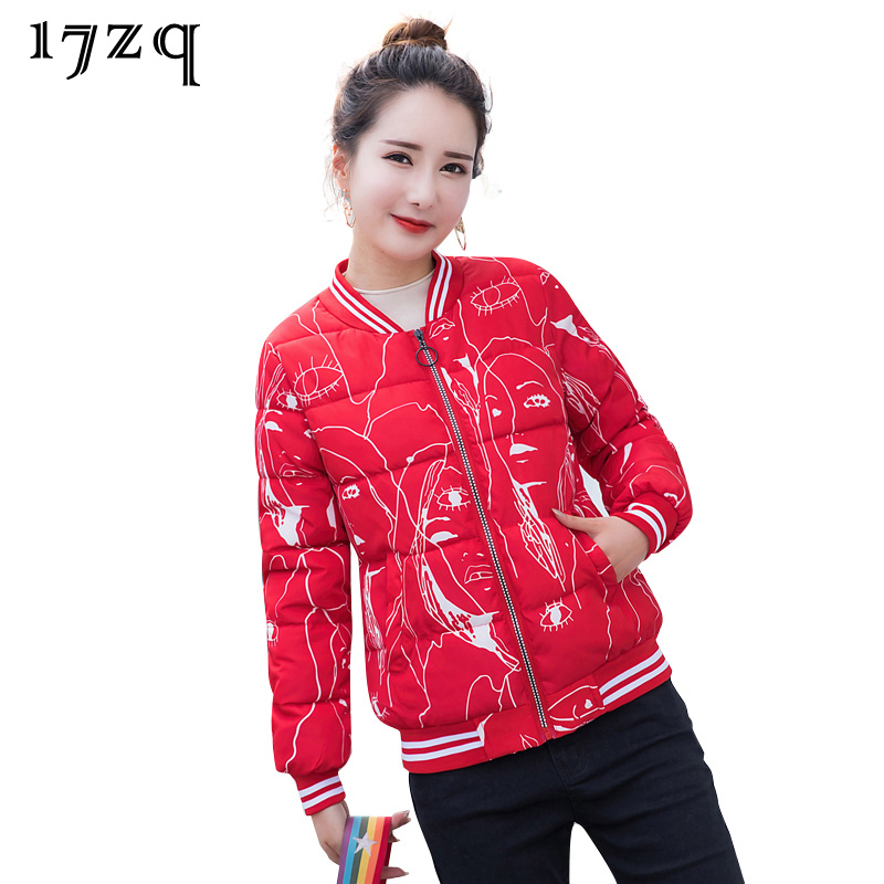 Trendy gray White P819 De 17zq Parkas 2018 Mode Uniforme La Lady red Baseball Hiver Personnalité Office Épais Noir Femmes Mince balck 4FqdHFxw1