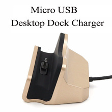 USB Micro V8 Desktop Dock Charger 2 In 1 Mobile Phone Charger + Mobile Phone Holder For Samsung  S7Edge Android Mobile Phones