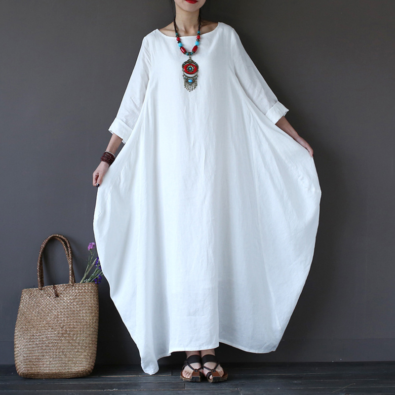 a89c574f59144 Buy white cotton dres and get free shipping on AliExpress.com