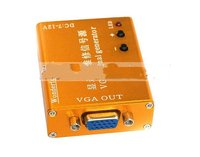 Portable LCD Monitor Repair Source VGA Multiple Frequency Signal Generator Screen Tester W Battery Cable Free