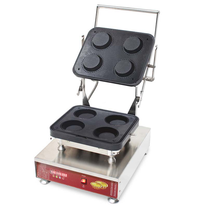 Commercial Top Quality Bake Cheese Tart Maker/Tartelete/Egg Tart Maker Commercial Pie Making Equipment delicious snacks equipment automatic egg tart skin forming machine egg tart skin machine