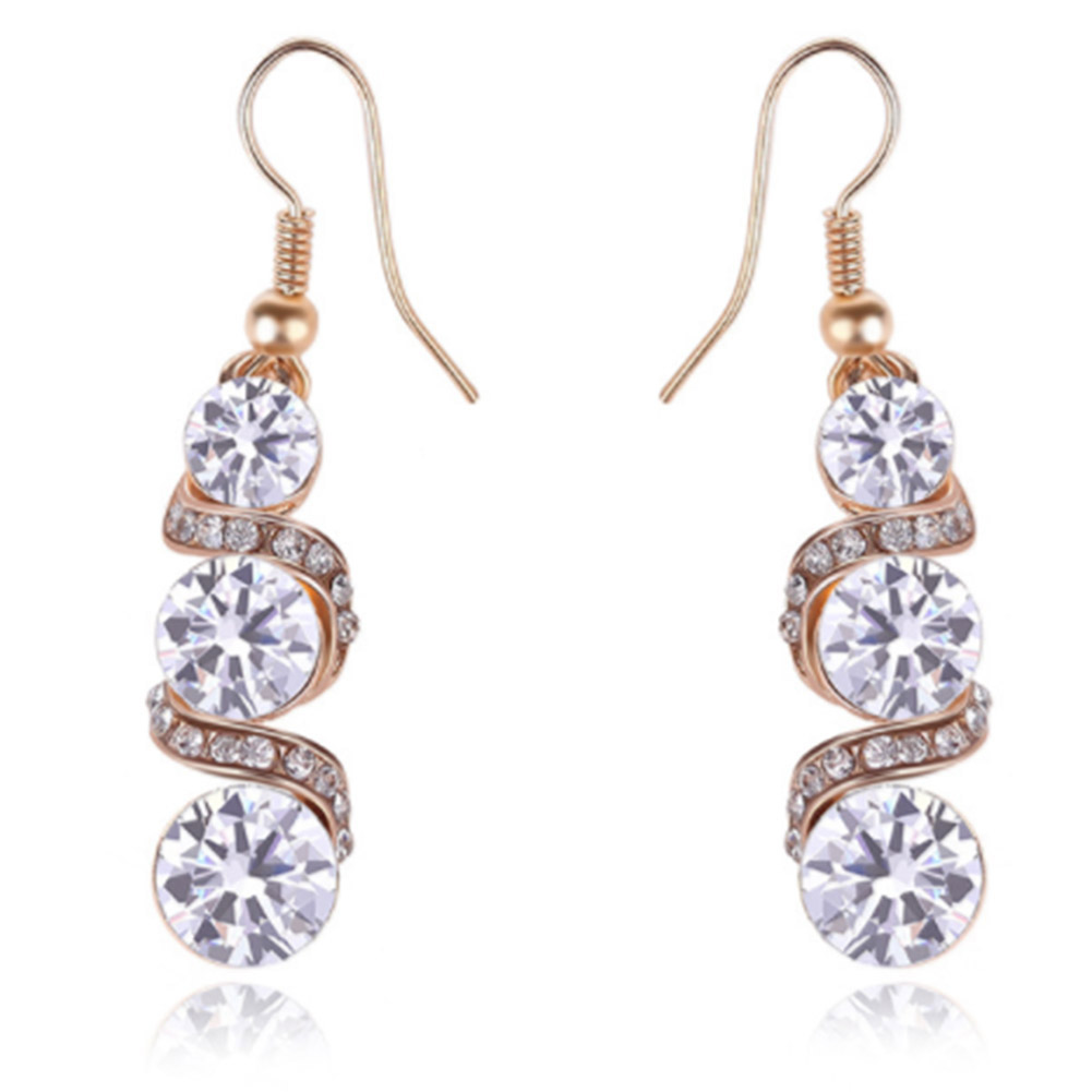 Style 123319 Diamontrigue Jewelry: Dangle Earring New Style Earrings Irregular Long Earrings