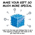 YiTao(TM) 3D Magic Cube Puzzle Box Sequential Puzzles as Birthday Gift
