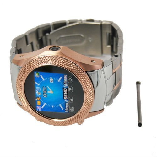 """Free shipping W960 Steel Watch Phone with 1.3MP camera,1.3""""Touch Screen,Bluetooth and MP4,FM Radio Function"""