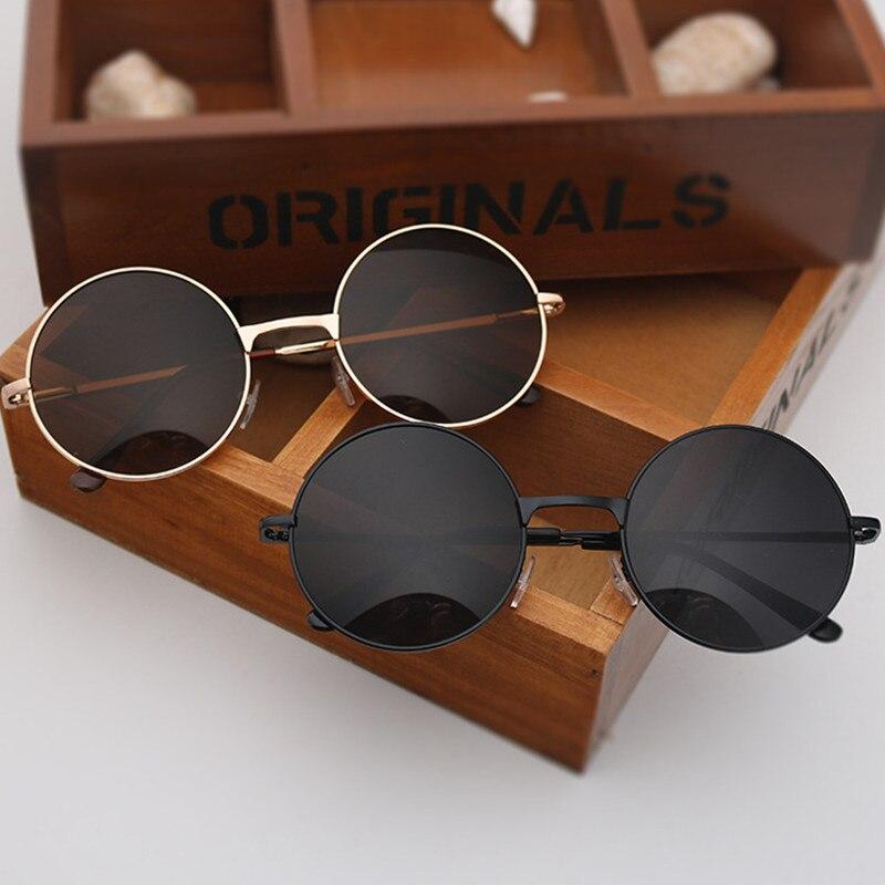 Round Glasses Men Women Steampunk Sunglasses Vintage Sunglasse Women Brand Designer Round Sunglasses 2019 New Mirror UV400