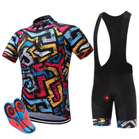 SUREA New Summer 2017 Pro Cycling Shorts Jersey Bicycle Bike Cycling Wear Maillot Bicycle Clothes Sportswear