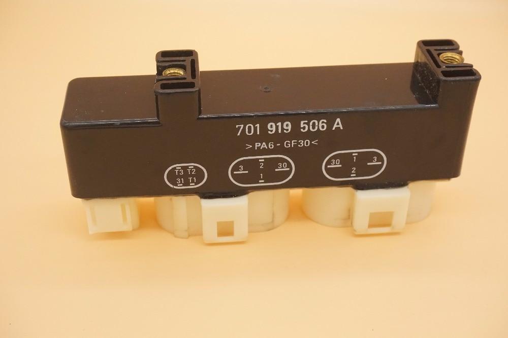 Radiator Fan Castor Relay Fits for SEAT MPV VW Transporter T4 1.8-2.8L 1990-2010 V15710033 7203342 95VW8C616AA 1008800006 661061