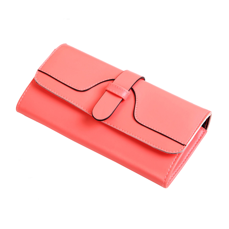 Women Wallet Leather Card Coin Holder Money Clip Long Phone Clutch Luxury Designer 2017 Hot Sale Dollar Price Photo Female Purse dollar price women cute cat small wallet zipper wallet brand designed pu leather women coin purse female wallet card holder
