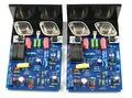 Собранный QUAD405 CLONE 2.0 двухканальный усилитель мощности плата MJ15024 для HIFI
