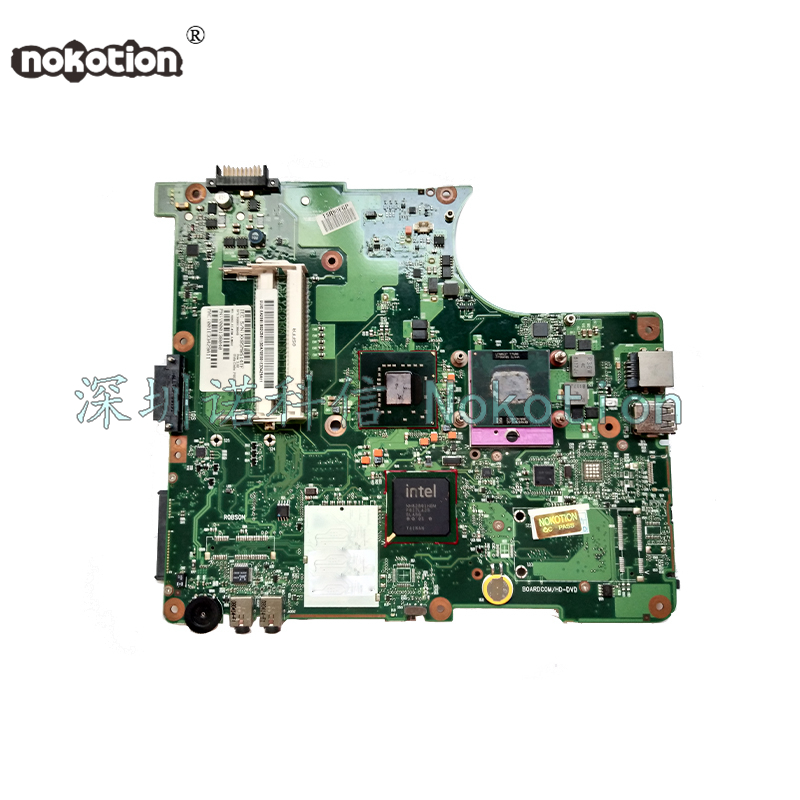 NOKOTION MOTHERBOARD FOR TOSHIBA Satellite L300 L305 V000138010 6050A2170201 gm965 ddr2 free cpu full test motherboard for toshiba satellite l300 l305 v000138680 6050a2264901 100% tested good with 60 day warranty