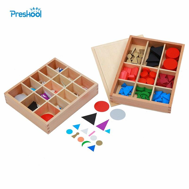 Детские игрушки Монтессори, базовые деревянные грамматические и карточные грамматические символы с коробкой, дошкольное образование, Дошк