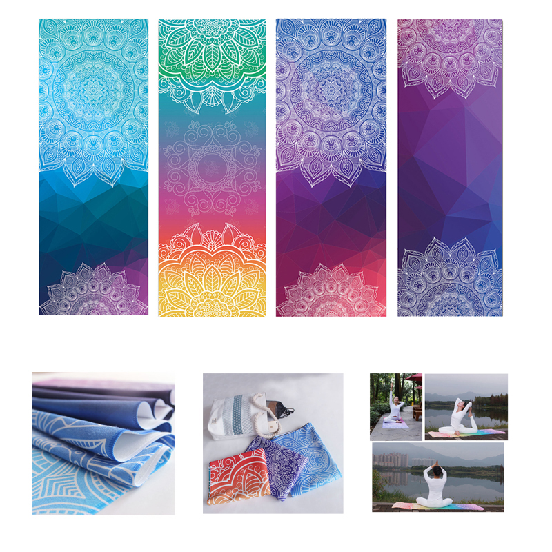 TPE Yoga Mat Pad Non-slip Slimming Exercise Fitness Gymnastics Mat Body Building Esterilla Pilates chastep natural pvc yoga mat anti slip sweat absorption 183 61cm 6mm yoga pad fitness gym pilates sports exercise pad yoga mats