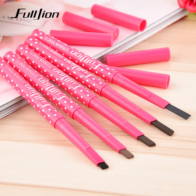 Eyebrow Pencil Longlasting Waterproof Eyebrow Liner and Eye brow Shaping Stencils  3