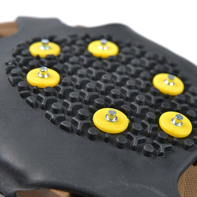 Universal Anti Slip Snow Shoes Cover Spikes Grips Climbing Camping