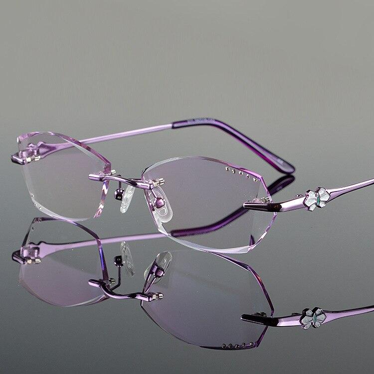 Popular Women Rimless Glasses-Buy Cheap Women Rimless ...