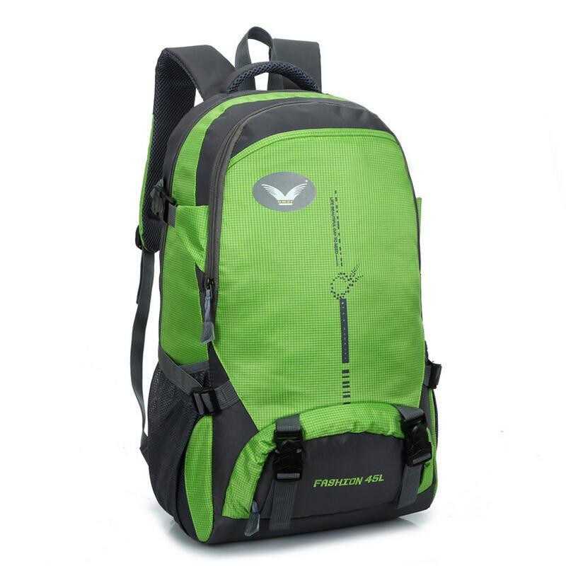 Doble-Hombro bolso Del alpinismo mochila bolsa de viaje al aire libre los hombre