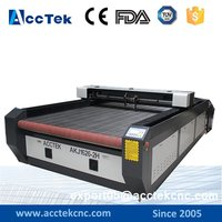 AKJ1626 Wholesale Co2 Laser Engraving Cutting Machine CNC Cutting Router For Leather Clothes Paper Fabric Acrylic
