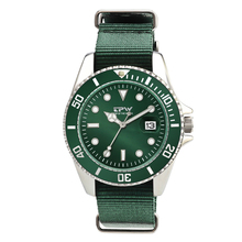 лучшая цена Fashion Mens Analog Quarts Watches Men WristWatch Top Brand Luxury Casual Watch Clock Green Nylon Strap
