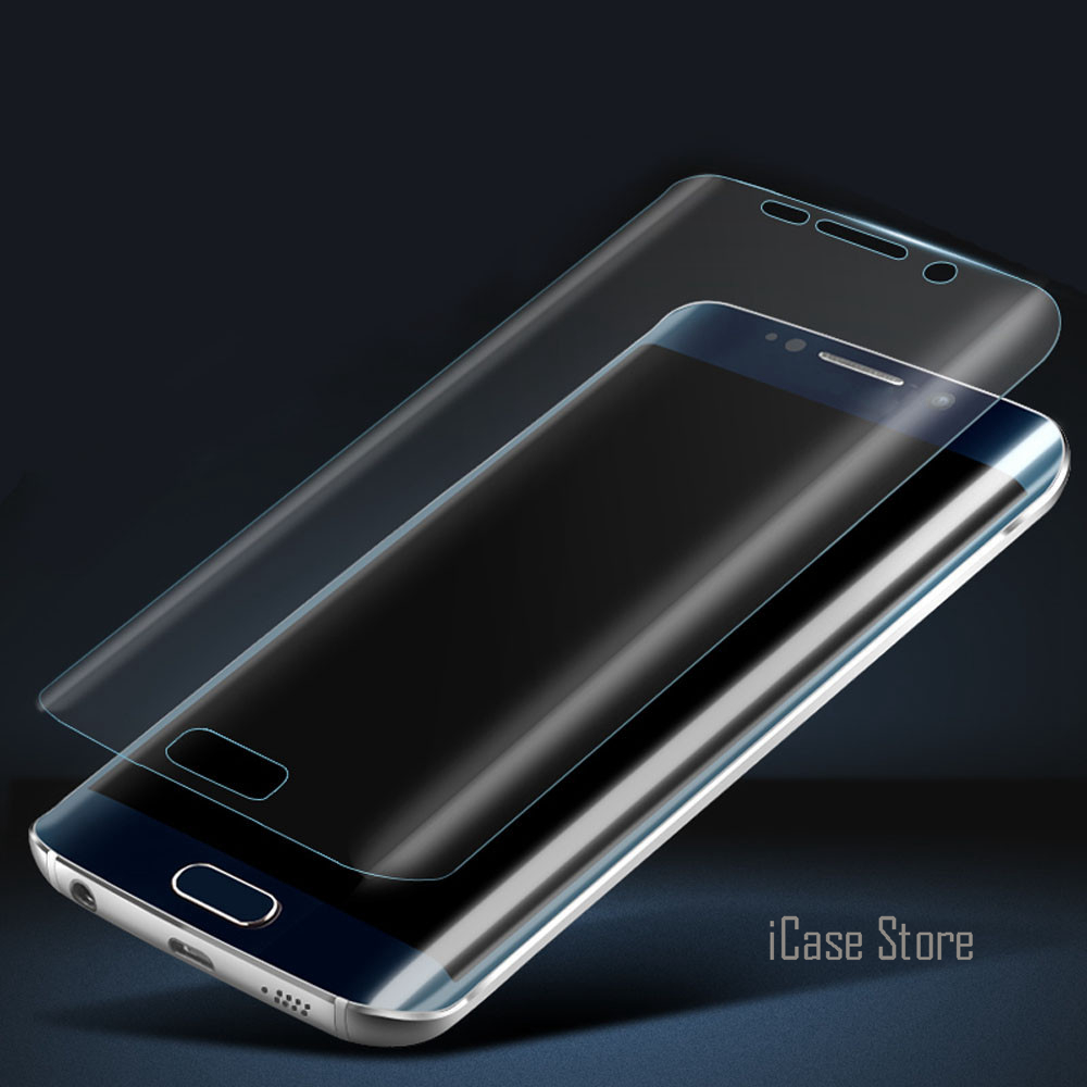 S6 S7 Edge S8 Plus Full Coverage Curved Screen Protector For Samsung Galaxy S7 S6 Edge Plus Soft Film Case (Not Tempered Glass)