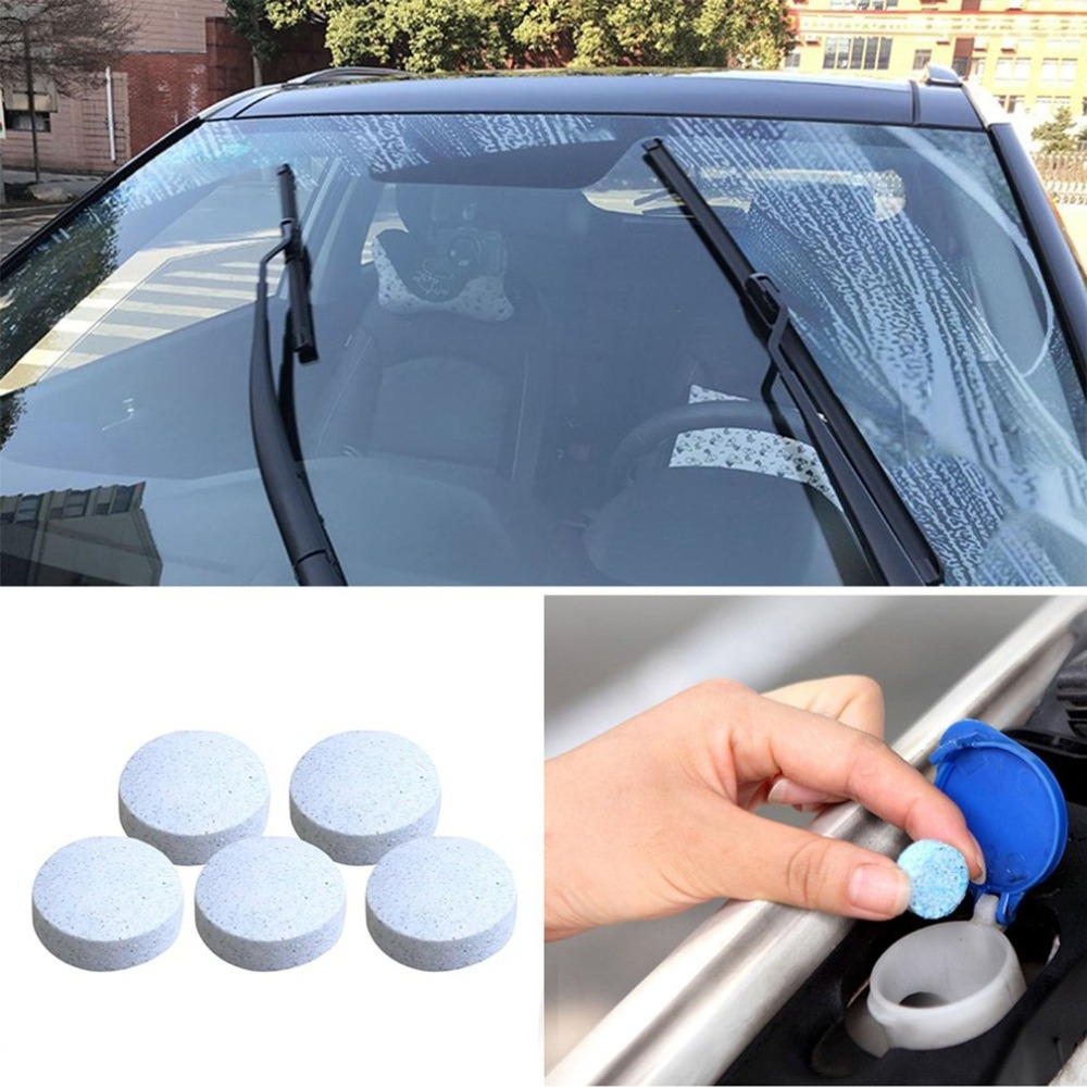 5/10/20PCS Multifunctional Effervescent Spray Cleaner Home Cleaning Spray Window Cleaning Car Windshield Glass Cleaner Supplies