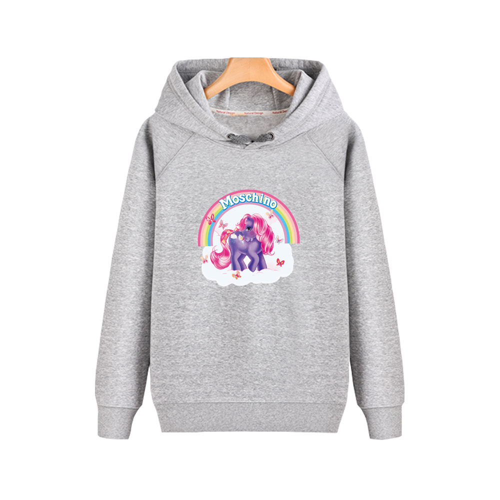 My Little Pony Girls Pony Patches Hoodie