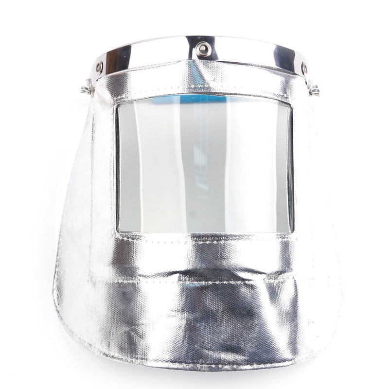 цены Transparent Lens Aluminum foil Anti-UV Anti-shock Welding Helmet Face Shield Solder Mask Face Eye Protect Shield Anti-shock