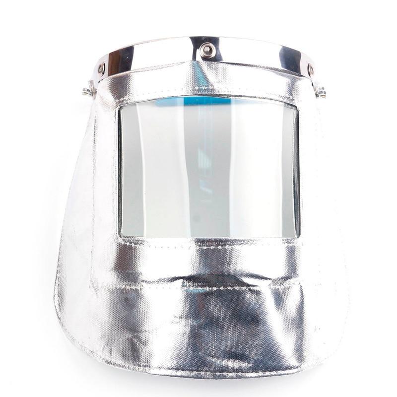 Transparent Lens Aluminum foil Anti-UV Anti-shock Welding Helmet Face Shield Solder Mask Face Eye Protect Shield Anti-shock transparent lens anti uv anti shock welding helmet face shield solder mask face eye protect shield anti shock