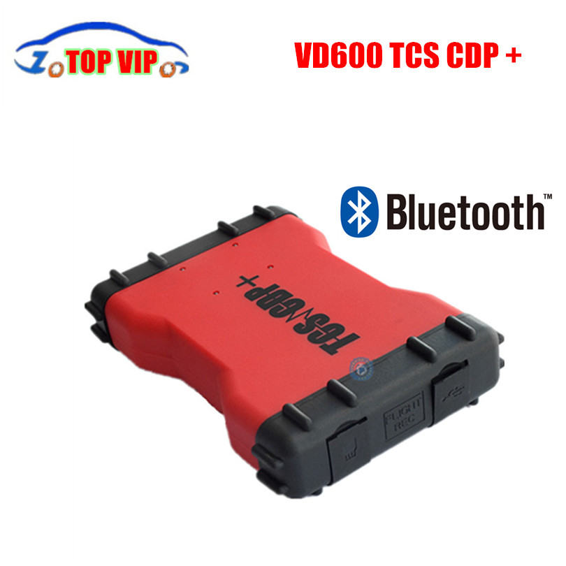 Best price Newest 2016.00 TCS CDP VD600 CDP pro plus with Bluetooth for car/ truck OBD2 Diagnostic Scanner tool