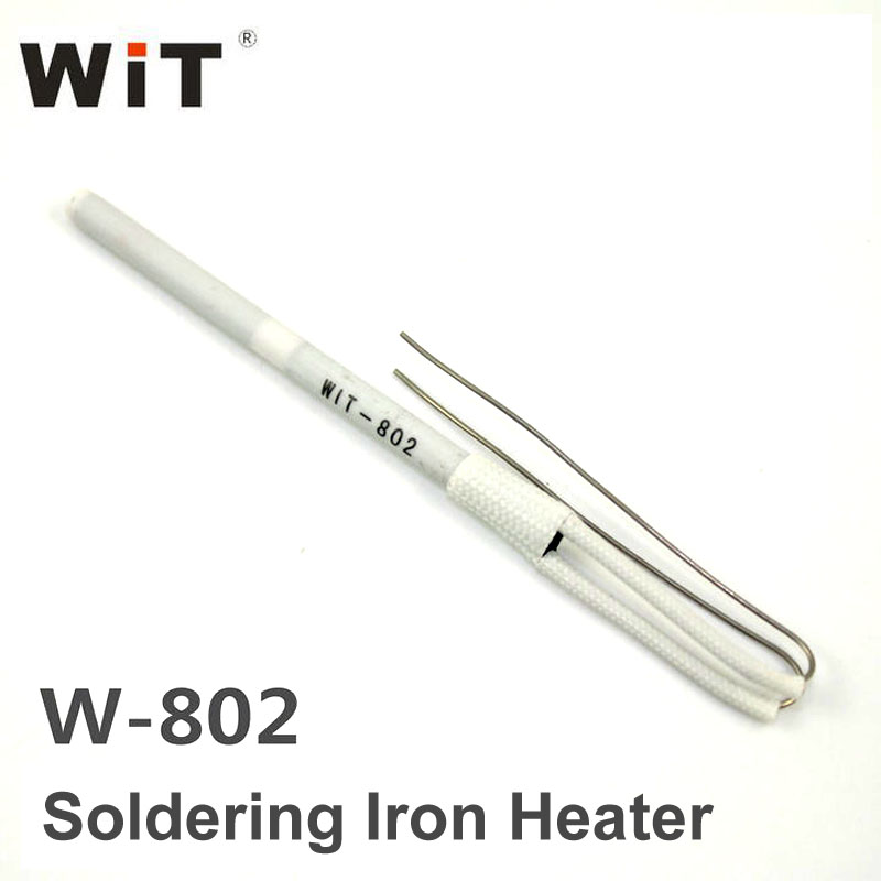 Original Japan WiT W802 Soldering Iron Replacement Part Ceramic Heater Core Ultra-durable Heating Element Internal Heat Type 600w ceramic heater biomass particle ignition stove ceramic heating element silicon nitride ceramic heating element