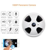 BabyKam 360 Degree Panoramic Camera HD Wireless WiFi IP Camera 1080P 1 44MM Lens Fisheye 2MP