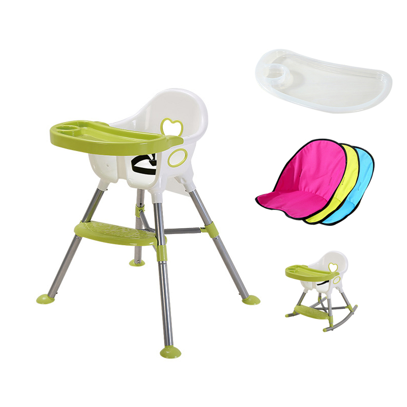 Baby Chair Portable Infant Seat For Children Long Legs Kids Can Shake Chairs Baby Eat Dining Chair Plastic Baby Safety Chairs school meeting chair with pad cheap kids plastic chairs export goods wholesale price with free shipment 50 chairs to canada