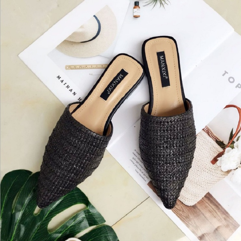 Gtime Casual Women Shoes Fashion Women Cane Mules Women Flat Slippers Spring Outside Basic Women Slides Summer Shoes XJJ315Gtime Casual Women Shoes Fashion Women Cane Mules Women Flat Slippers Spring Outside Basic Women Slides Summer Shoes XJJ315