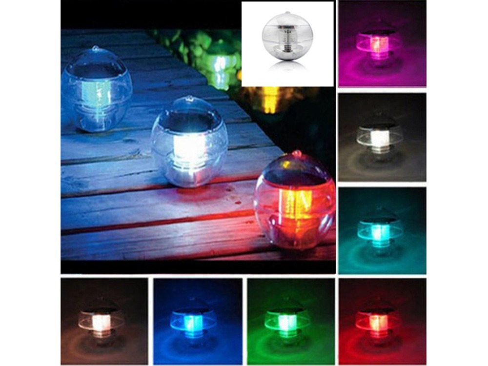Zonne energie LED Nachtlampje Globe Lamp voor Indoor en Outdoor ...