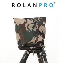 ROLANPRO Rain Cover Raincoat Army Green Camouflage Clothing for Gitzo Benro GH2 Wimberley WH 200 Gitzo GHFG1 Gimbal Head