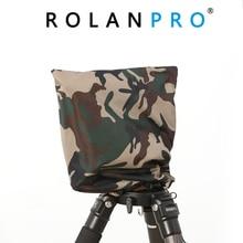 ROLANPRO ฝน Raincoat Army Green Camouflage เสื้อผ้าสำหรับ Gitzo Benro GH2 Wimberley WH 200 Gitzo GHFG1 Gimbal Head