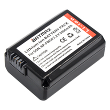 1 pacote 2000 mah np-fw50 fw50 np npfw50 bateria para sony alpha a33, a35, a37, a55, SLT-A33, SLT-A35, SLT-A37, SLT-A37K, SLT-A37M, SLT-A55
