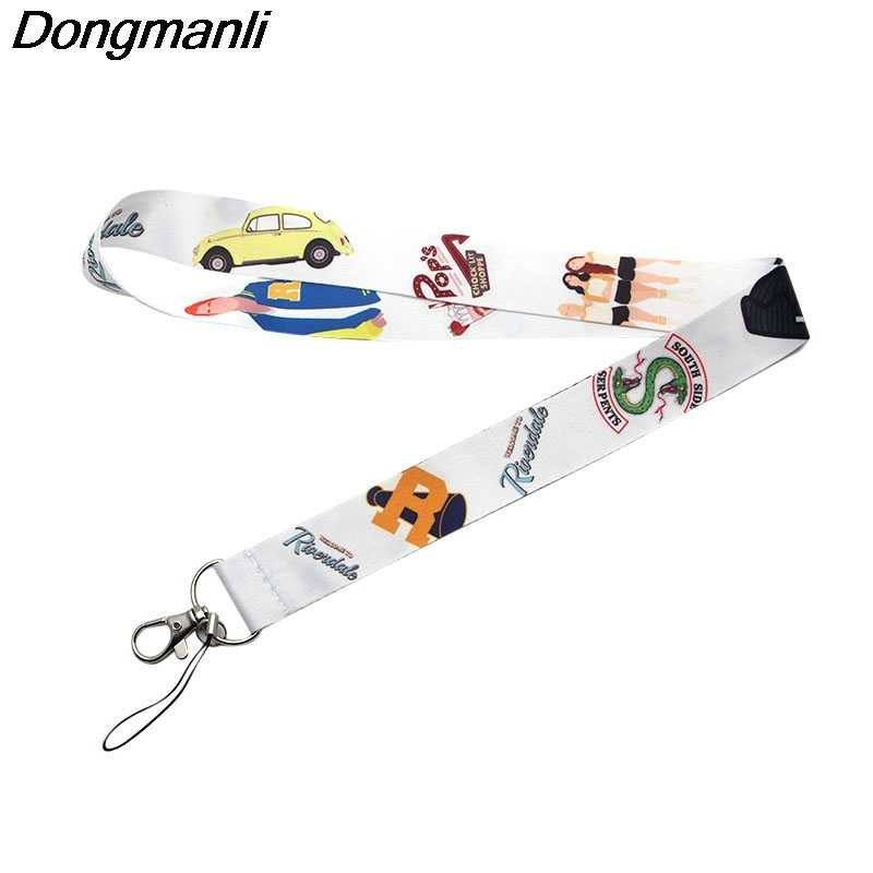 P3158 Dongmanli Riverdale Portachiavi Per Le Chiavi ID Pass Palestra Del Telefono Mobile USB Badge Holder Hang Rope Lariat Cordicella